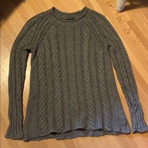 James Perse Grey Knitted Sweater